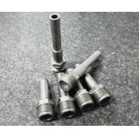 Buy cheap Precision Mould Parts Cnc Machined Parts Threaded Turned Machinery Components from wholesalers