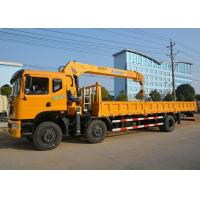 Buy cheap DFAC Dongfeng 6x2 Truck Mounted Boom Crane / 10 Ton Mobile Crane CS2018XX from wholesalers