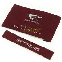 Wholesale Garments Woven Labels Small Quantities , High Density Woven Apparel Labels from china suppliers