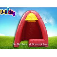 Buy cheap Small Yellow Inflatable Igloo Tent Inflatable Booth Display Rental 3m × 3m ×3m from wholesalers