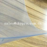 China Flexible Super Clear Customized 1mm Thickness Non Toxic Double Film Rigid PVC Plastic Film Sheet on sale