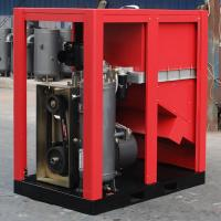 Buy cheap Electric Belt Driven Rotary Screw Air Compressor For Industrial from wholesalers