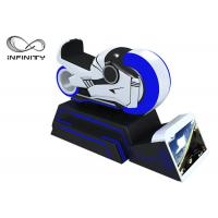 Buy cheap Blue And White Color 9D VR Simulator One Year Warranty / VR Racing Motorcycle from wholesalers