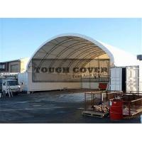 Buy cheap 14m(46') Container Mounted Cover Shelter,low budget large space from wholesalers