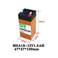 Buy cheap 6V 12 Volt Lithium Battery Pack for Electric Toys NCM/LiFePO4 Technology from wholesalers