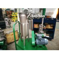Buy cheap Pulse Jet Bag Filter System / Lube Oil Filter High Efficiency Enclosed Operation from wholesalers