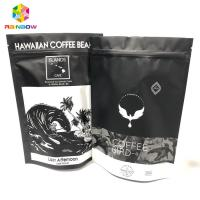 Buy cheap Gravure Printing Aluminum Foil Bags , Ground Coffee Stand Up Zipper Bags With Valve from wholesalers