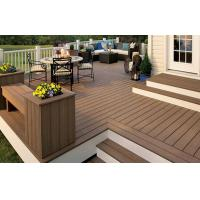Buy cheap Recyclable WPC Decking Flooring Waterproof Brown For Court from wholesalers