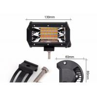 Buy cheap IP67 Waterproof LED Strobe Light Bar Dual Color 5 Inch 72W 24 Month Warranty from wholesalers