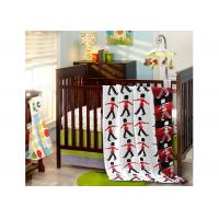 Buy cheap Luxury Childs Kids Sleeping Blanket 100% Cotton Red Soldier Pattern Thread from wholesalers