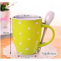 Buy cheap Creative mug ceramic red blue yellow cup from wholesalers