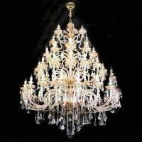 Wholesale Crystal Chandelier with Lights, Measures 1,300 x 2,000mm from china suppliers