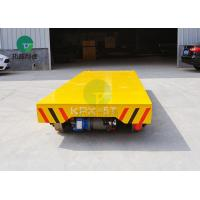 Buy cheap Material Handling Equipment Battery Powered Transfer Platform On Rail from wholesalers