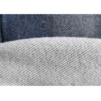 Buy cheap Premium Cotton Blended Knitted Denim Fabric Double Layer French Terry Indigo from wholesalers