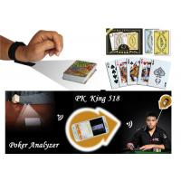 Buy cheap Cheating Da Vinci Plastic Marked Poker Cards With Invisible Barcodes ISO from wholesalers