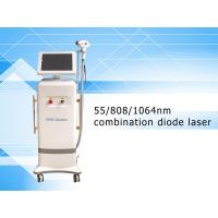 Buy cheap Newest design 755/808/1064nm combination diode laser hair removal machine from wholesalers