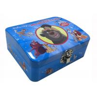 Buy cheap Kids Toy Game Tin Box Disney Artwork Non - Toxic With Lock 130*110X40/45mmH from wholesalers