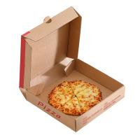 Wholesale Brown Packaging Paper Box , Cardboard Pizza Boxes Eco - Friendly Design from china suppliers