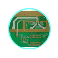 Buy cheap 4 Layer Immersion Gold Rogers PCB Board , printed pcb board In Panel Format from wholesalers