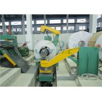 Buy cheap Steel Cut To Length Machine For 2200mm Width 6mm Thickness Material from wholesalers