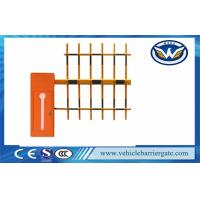 Auto Open And Close Vehicle Barrier Gate Led Light Bar Barrier Arms