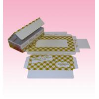 Buy cheap custom retail ultimate paper file box industry with lid with full color printing from wholesalers