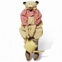 Outfit Teddy Bear for Gifts, Collection, Home Decoration, Made of Linen and Cotton Manufactures