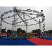 Buy cheap Performance Stage Lighting Truss , Customized Vertical Lighting Truss Adjustable Height from wholesalers