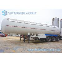 Buy cheap 56000 L 12 Wheel LPG Tank Trailer Three Axle Trailer With Air Suspension from wholesalers