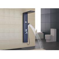 Buy cheap Outdoor Free Standing Shower Panel System ROVATE Brushed Surface Finishing from wholesalers