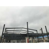 Buy cheap Two Story Light Steel Structure Workshop Building Construction from wholesalers