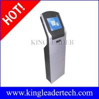 Buy cheap Curved and slim touchscreen LCD kiosk with thermal printer custom kiosk design TSK8002 from wholesalers