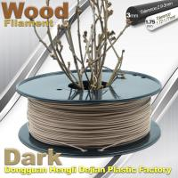 Wholesale Brown Materia 0.8kg / Roll 3D Printer Wood Filament 1.75mm 3mm from china suppliers