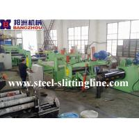 Buy cheap Hot Rolled Steel Coil Slitting Machine With Decoiler And Slitter Recoiler from wholesalers