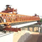 Buy cheap Remote Control 50M Span 100 Ton Bridge Launcher Crane from wholesalers