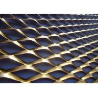 Buy cheap Raised Expanded Wire Mesh 24 In X 24 In Pattern Anodized Industrial Stretching Metal Sheet from wholesalers
