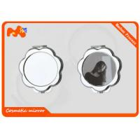 Buy cheap Elegantly Dye Sublimation Blanks , Women Personalized Compact Mirror from wholesalers