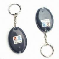 Buy cheap LED Keychains, Made of ABS, Customized Designs are Welcome from wholesalers