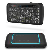 Wholesale H20 Multimedia Ergonomics Touch Pad Keyboard Dual Size Backlight 2.4Ghz keyboard For Android Windows from china suppliers
