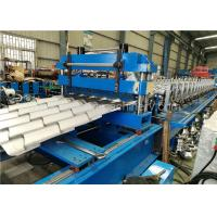 Buy cheap Corrugated Metal Roofing Steel Tile Roll Forming Machine With High Performance from wholesalers
