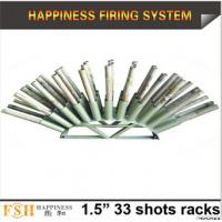 Buy cheap Liuyang Happiness 1.5 33 shots Roman candle fireworks display racks from wholesalers