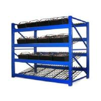 Buy cheap Wire Mesh Heavy Duty Battery Storage Rack Solar Energy Storage System from wholesalers