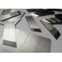 Buy cheap High Precision Tungsten Carbide Scraper Blades / Carbide Brazed Tip Tool Parts from wholesalers