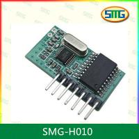 Buy cheap SMG-H010 Fixed code DC3v DC5V 2272 Decode 433mhz Receiver Module from wholesalers