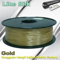 Buy cheap Polymer Composites 3D Printer Filament , 1.75mm / 3.0mm , Gold Colors. Like Silk Filament from wholesalers