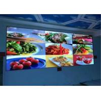 Buy cheap P6 Indoor Fixed  LED Display Screen 2500 Nit Brightness With Curved Cabinet from wholesalers
