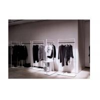 Buy cheap Elegant Clothes Shop Fittings Iron Powder Coated , White Complete Shop Fittings For Retail Store from wholesalers