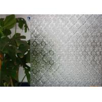 Buy cheap Clear Decorative Patterned Glass 3mm 4mm 5mm 6mm Thickness Flora Embossed Glass from wholesalers