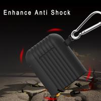 Buy cheap Mini Trunk Airpods Case Cute 3D Soft Silicone Protective Creative Stand Cover For Airpods1 & 2 Charging from wholesalers