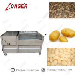 Buy cheap Potato Peeling And Washing Machine|Potato Peeler And Cleaning Machine For Sale|Commercial Potato Washing Machine from wholesalers